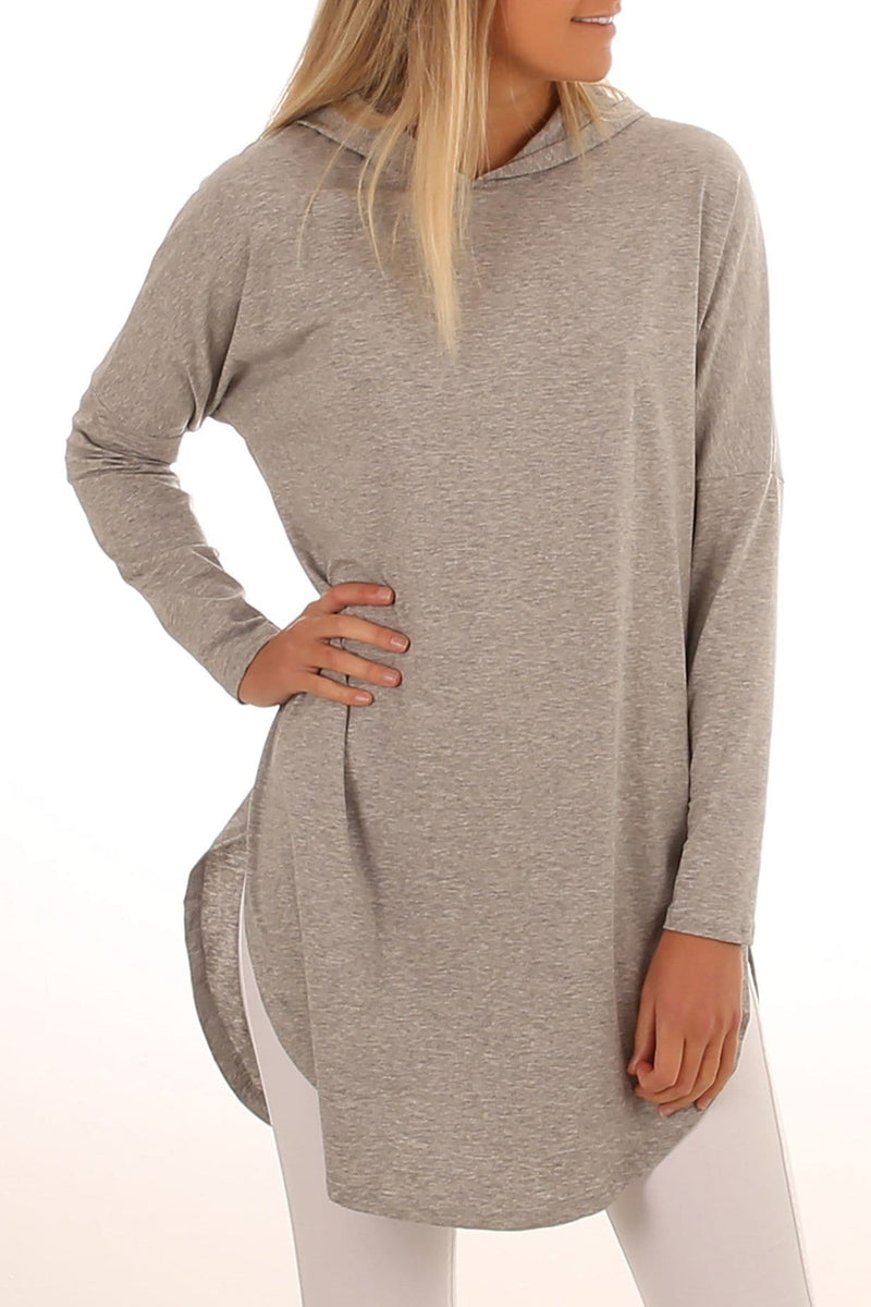 Fake Reality Hooded Long Sleeve Grey Jean Jail - Jean Jail