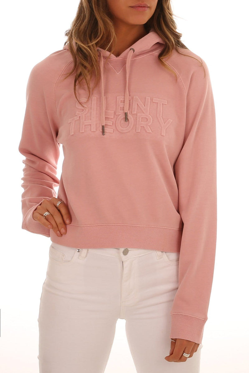 Heated Hoody Pastel Pink Silent Theory - Jean Jail