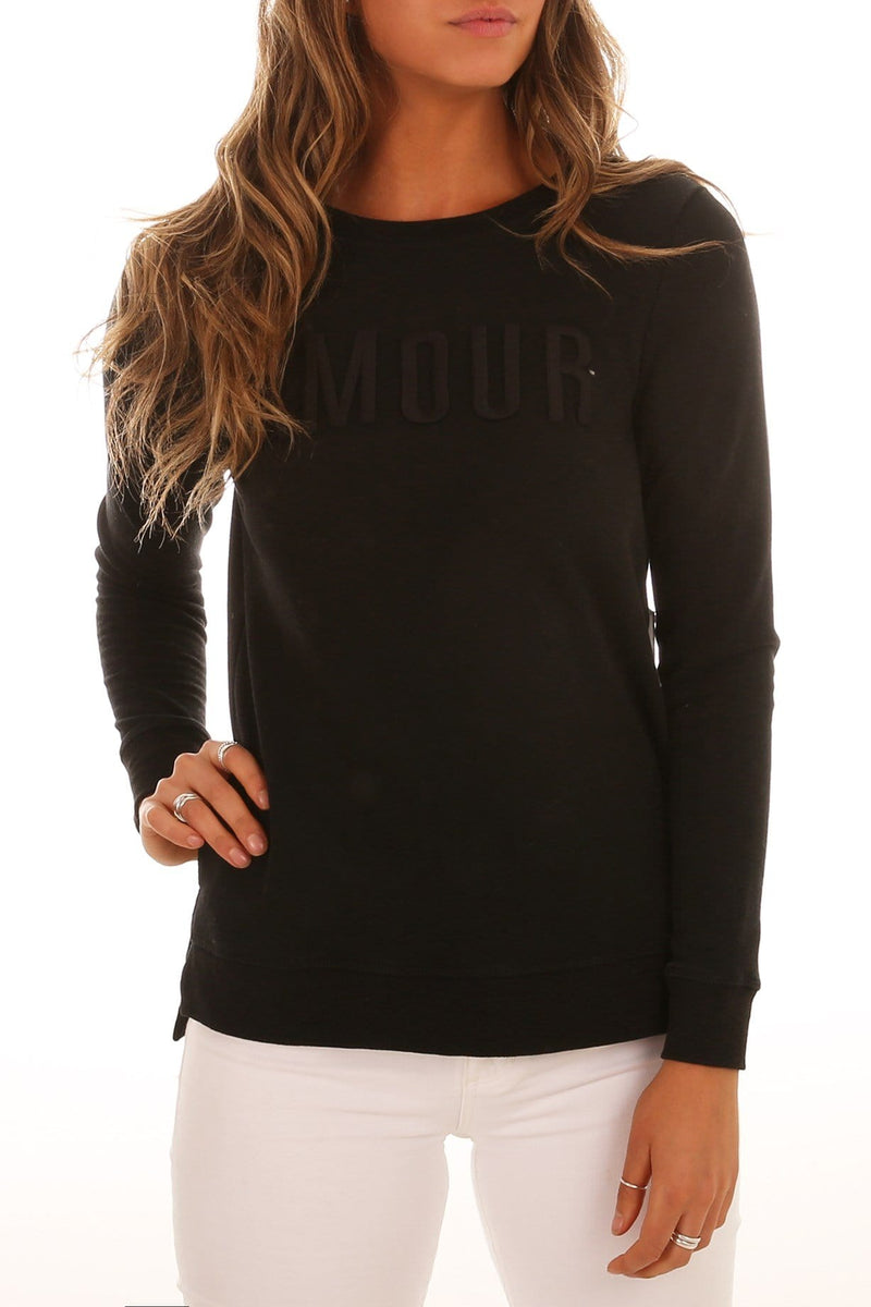 Jasper Amour Sweater Washed Black Betty Basics - Jean Jail