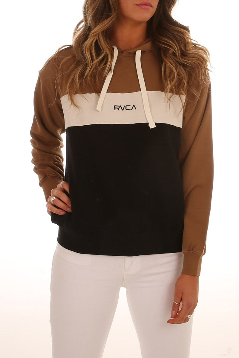 Layers Pullover Tobacco RVCA - Jean Jail