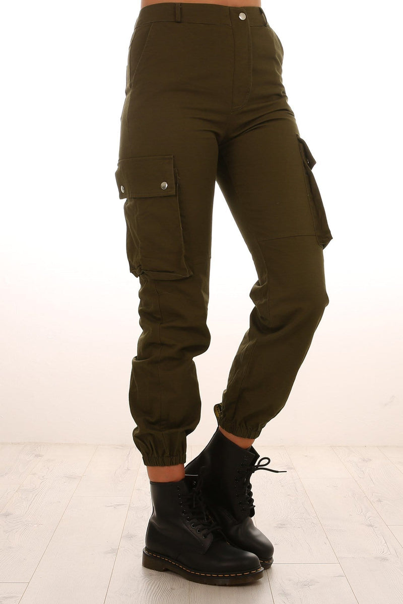 Shoot Me Down Pant Olive Jean Jail - Jean Jail
