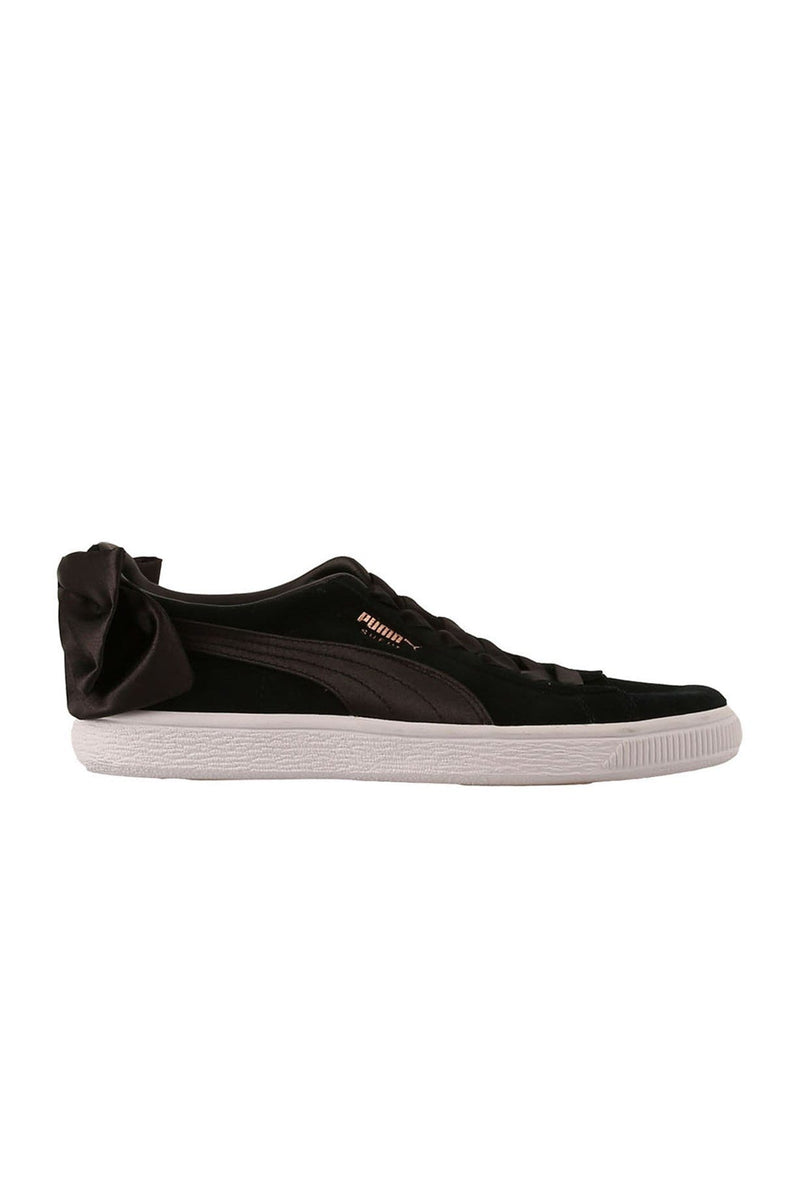 Suede Bow Sneakers Puma Black Puma - Jean Jail