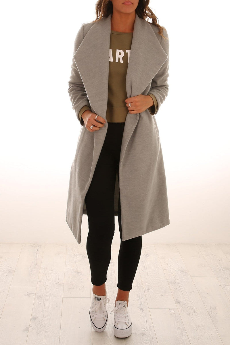 Theo Coat Light Grey Jean Jail - Jean Jail