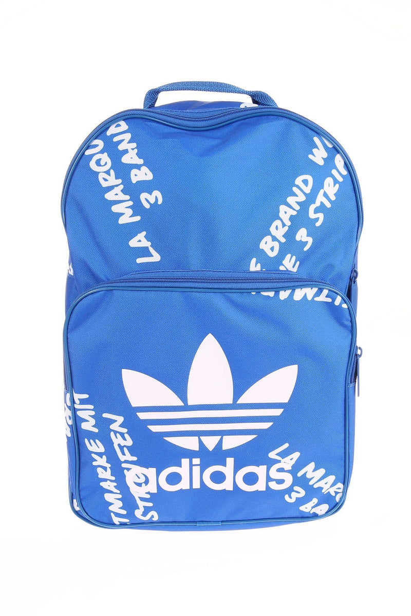 Classic Graphic Backpack Blue White adidas - Jean Jail