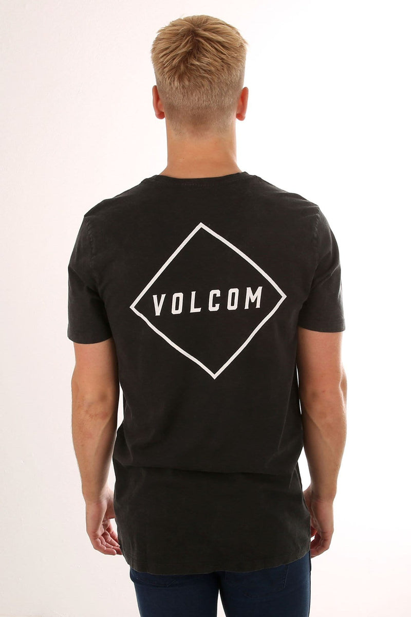 Pitcher Short Sleeve Tee Black Volcom - Jean Jail