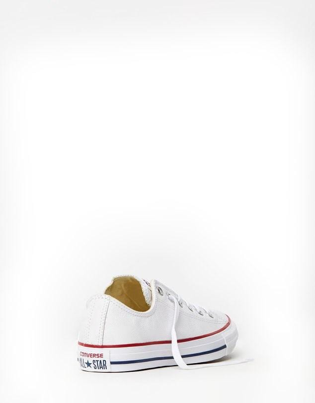 CT All Star Leather Ox White
