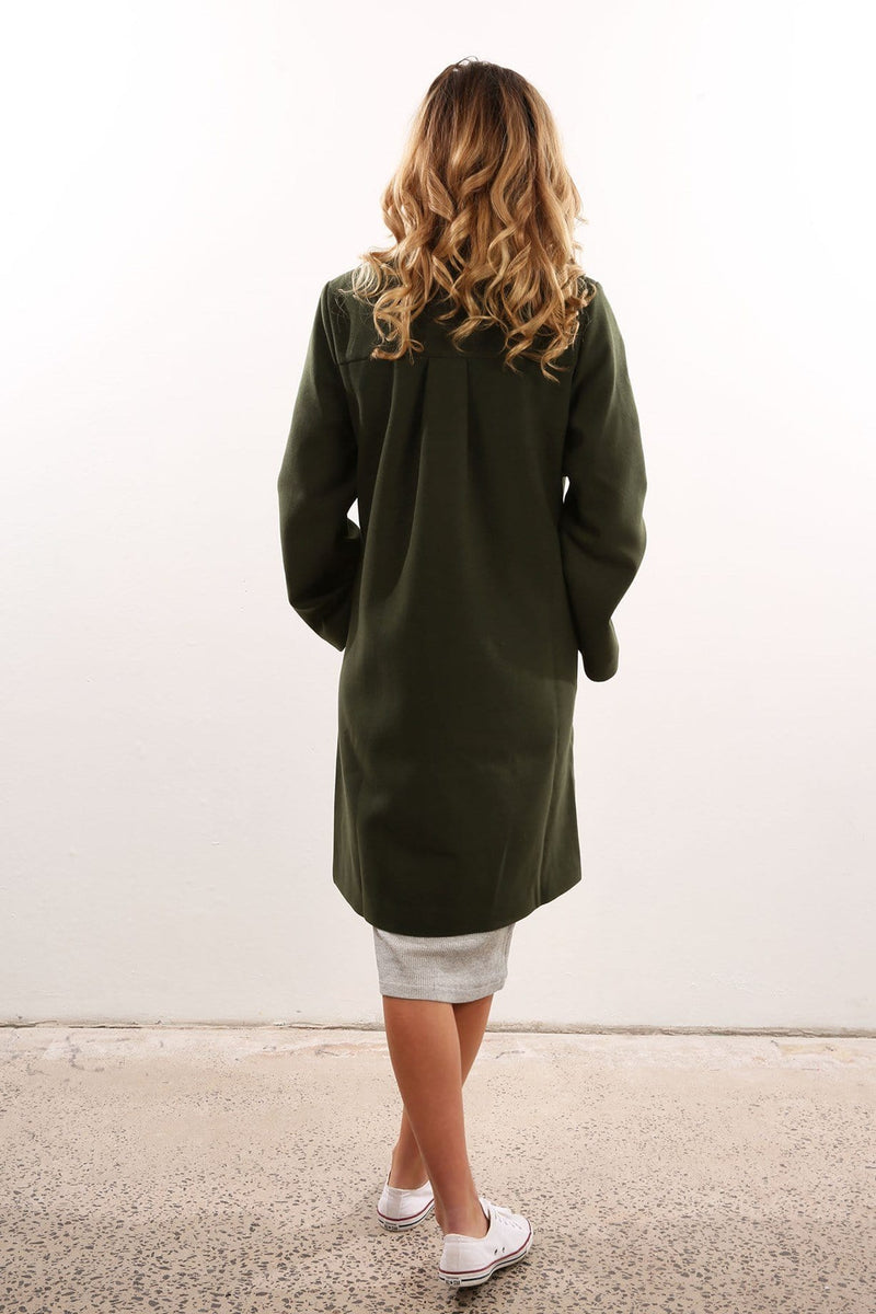The Elixir Coat Khaki The Fifth Label - Jean Jail