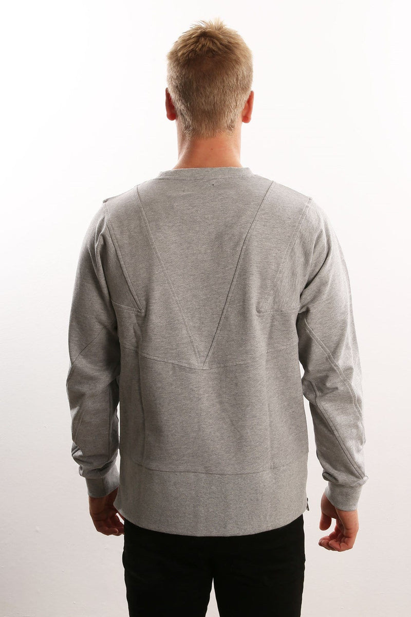 Cutline Crew Grey adidas - Jean Jail