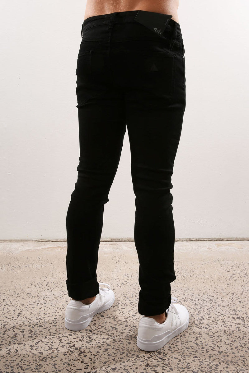 A Very Skinny Jean Repent Black Abrand - Jean Jail