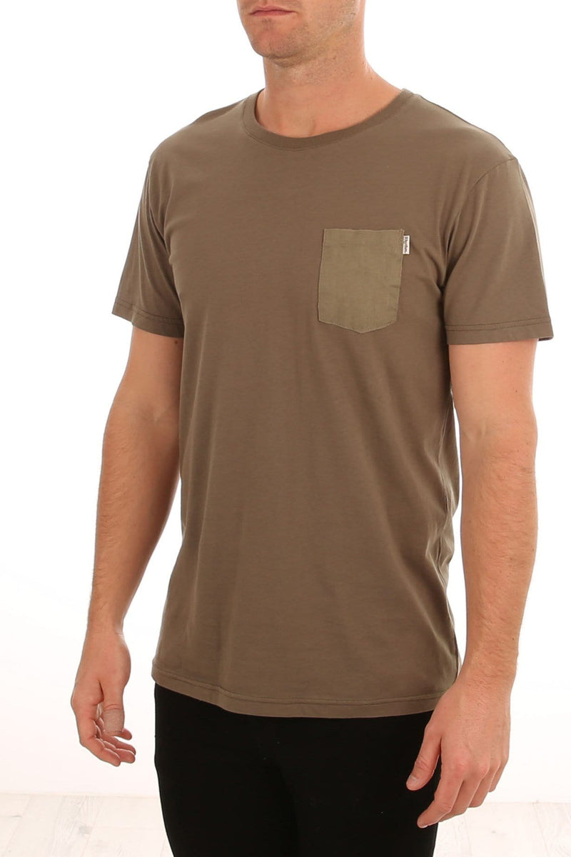 Basic T-Shirt Olive Rhythm - Jean Jail