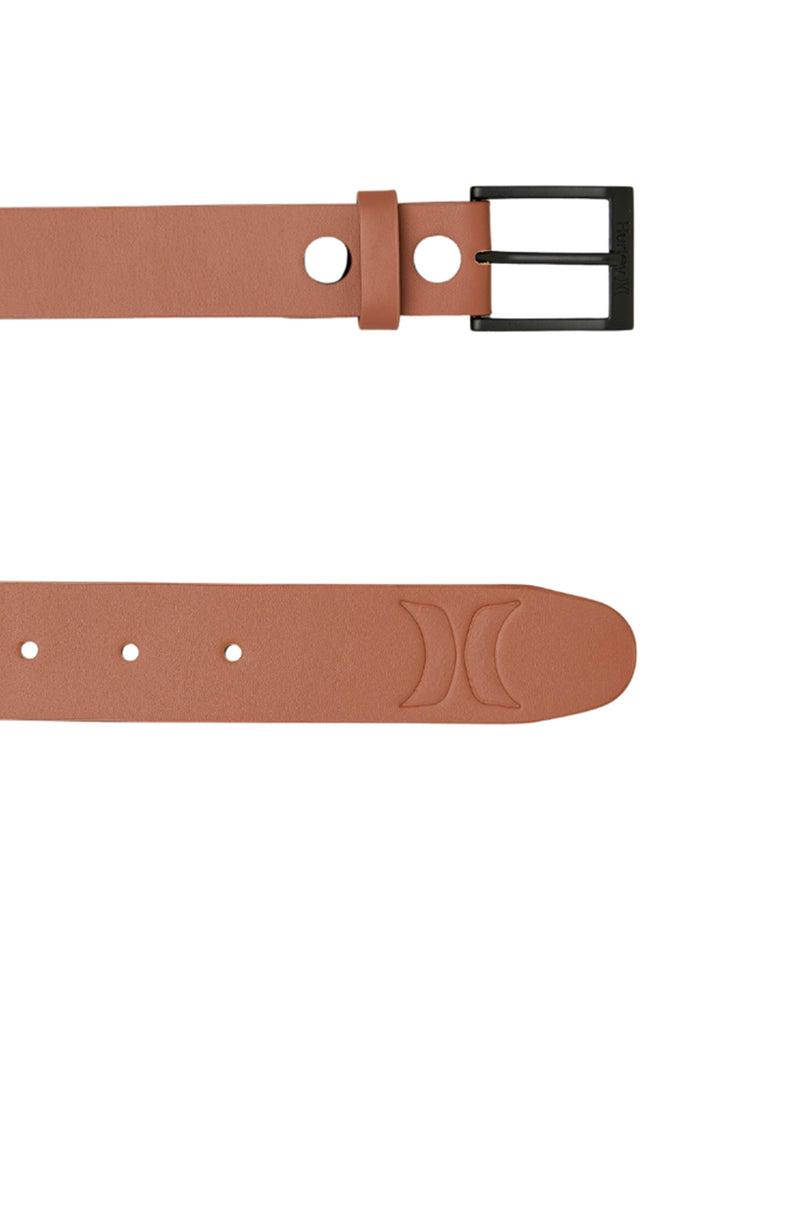 U Icon Leather Belt Infinite Sable