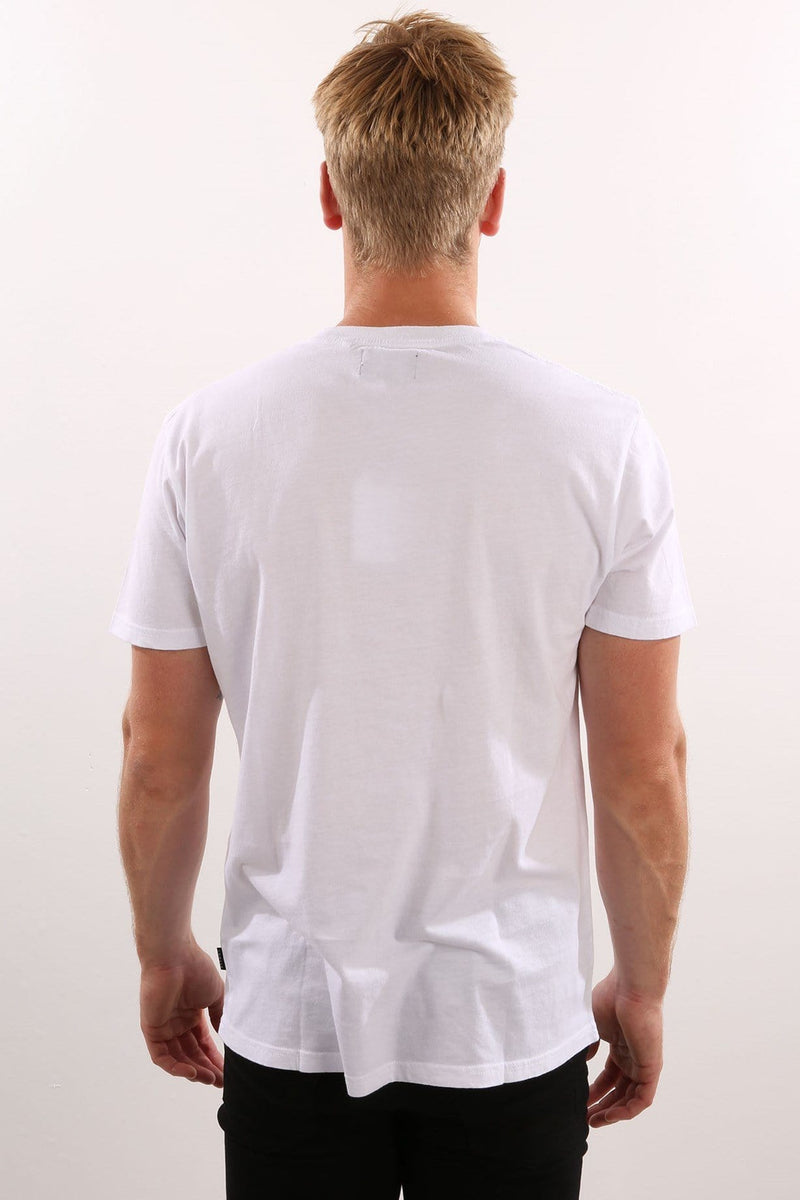 Players Standard Fit Tee White Afends - Jean Jail