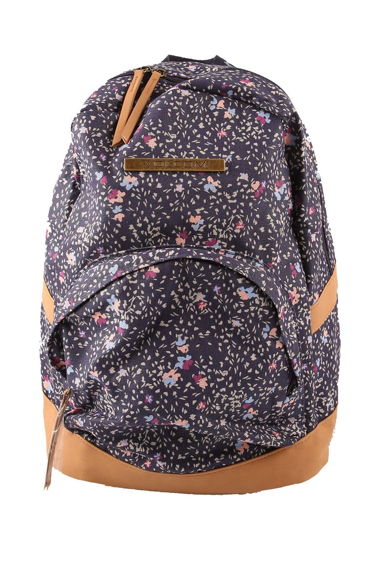 Vacations Canvas Backpack Midnight Blue Volcom - Jean Jail