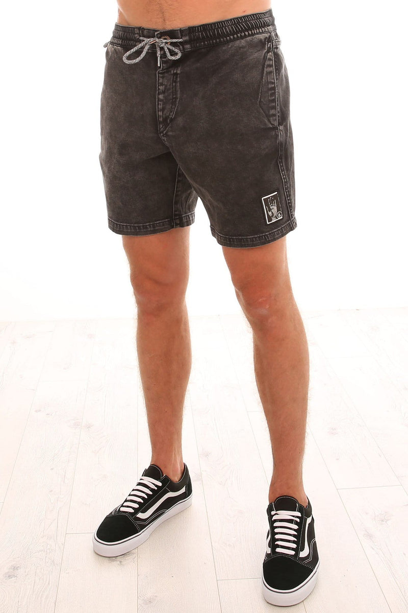 Oblivion Short Black Volcom - Jean Jail