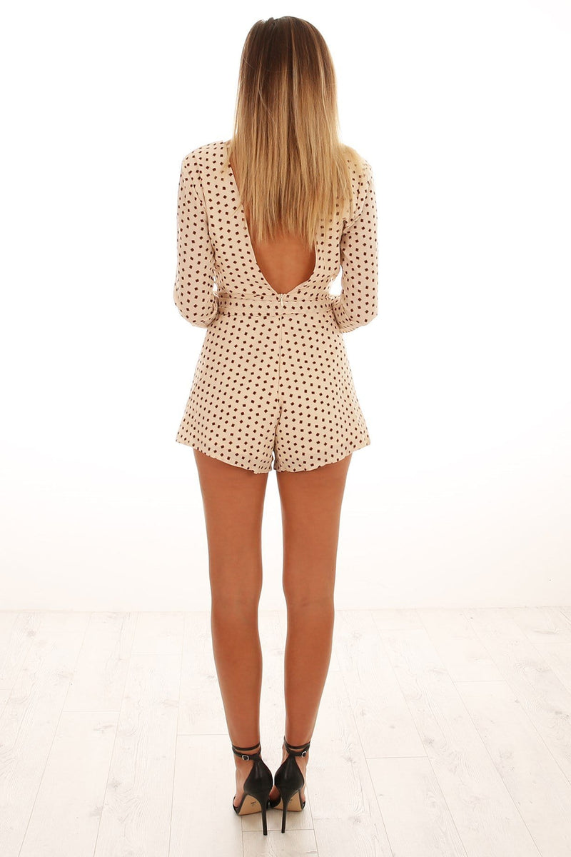 Every Intention Playsuit Cream