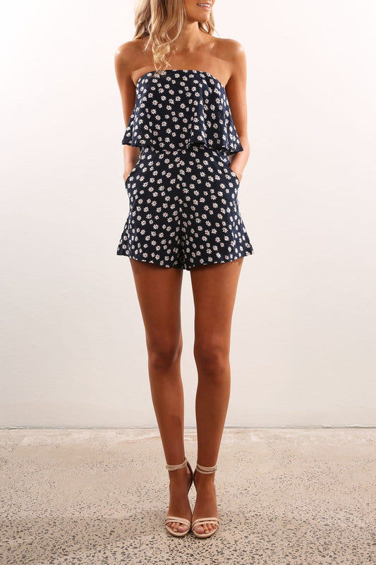 Blessing Playsuit Navy
