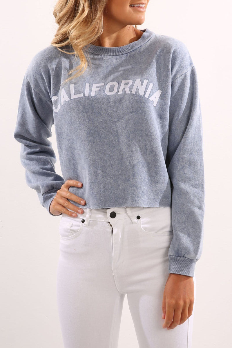 California Crew Blue All About Eve - Jean Jail