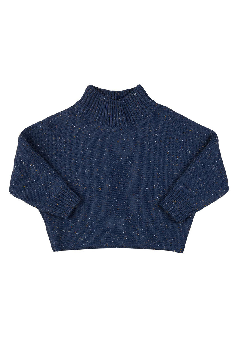 Sprinkles Knit Jumper Dark Blue
