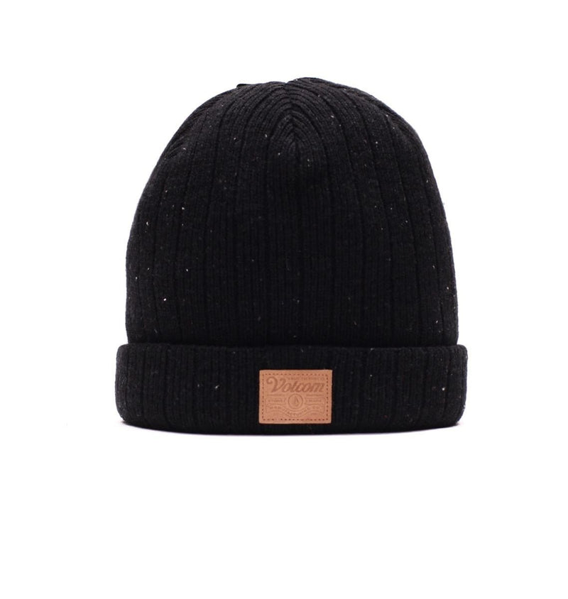 Flecking Beanie Black Volcom - Jean Jail