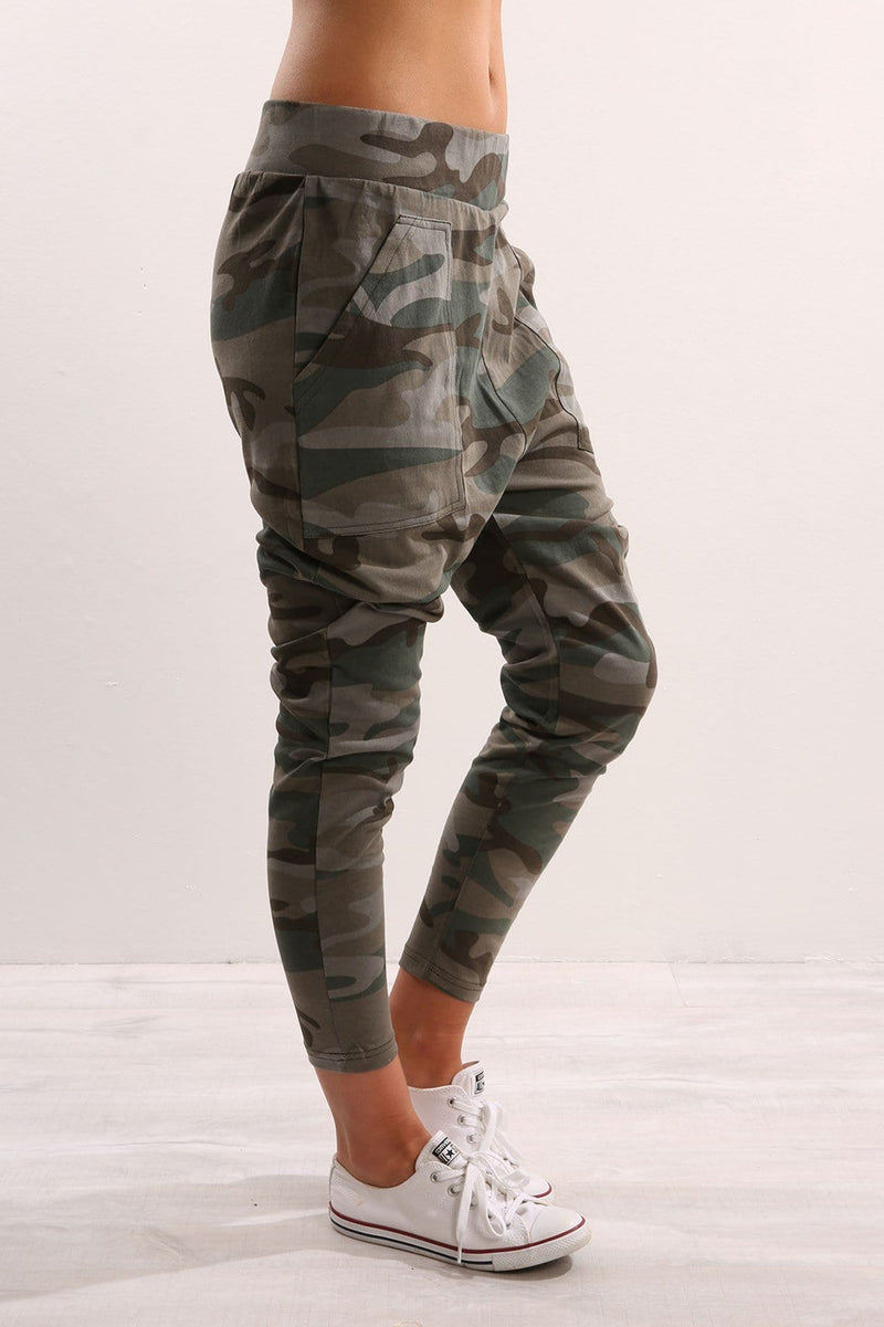 Alan Pant Camo All About Eve - Jean Jail