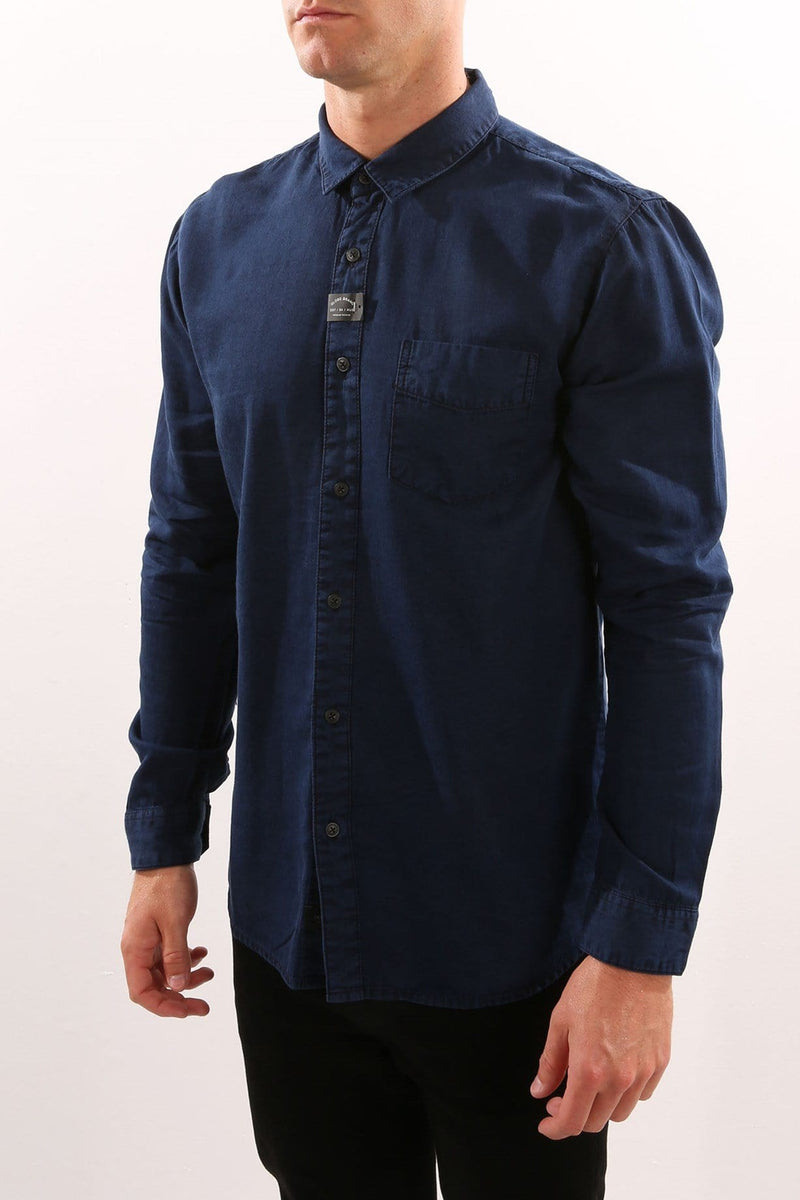 Goodstock Vintage Long Sleeve Shirt Ink Globe - Jean Jail