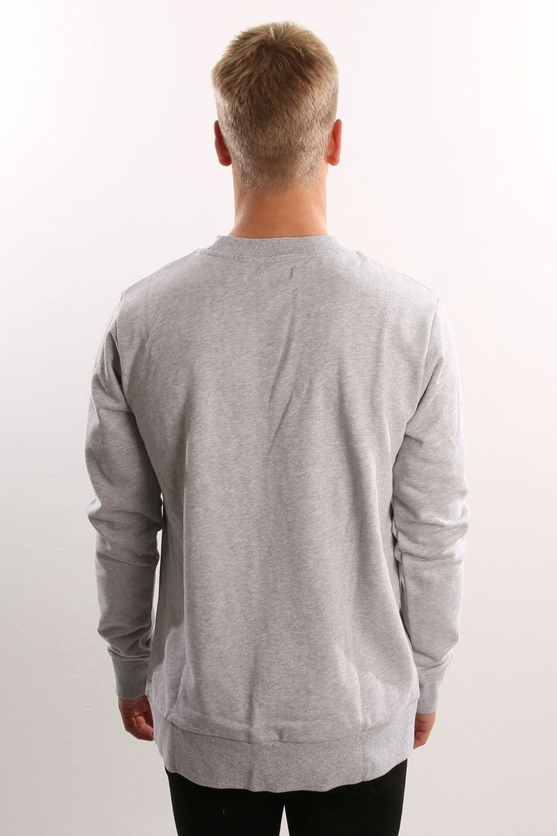 Collate Fleece Grey Marle Assembly Label - Jean Jail