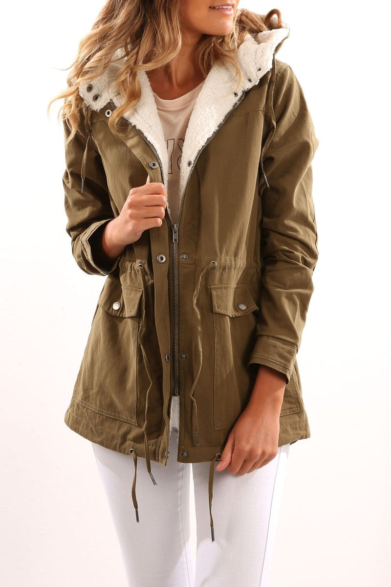 Edwards Parka Khaki All About Eve - Jean Jail