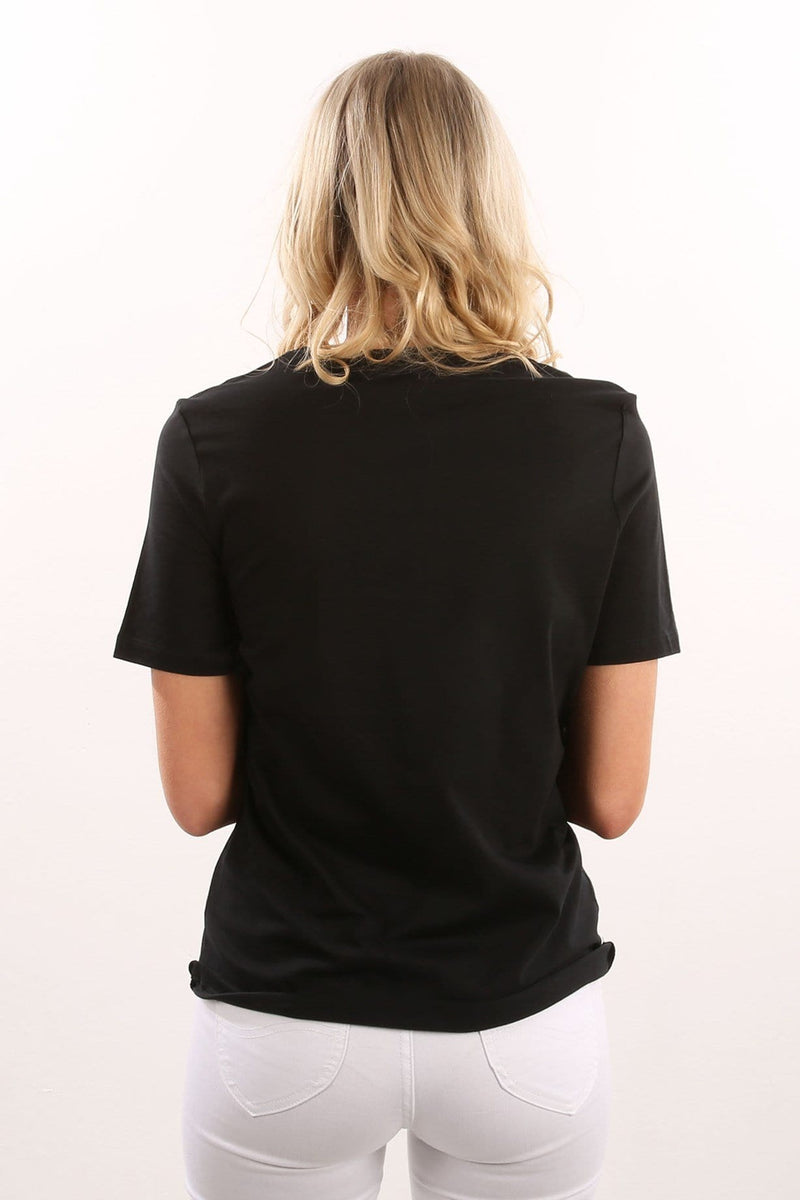 Sterling Tomboy T-Shirt Black Hurley - Jean Jail