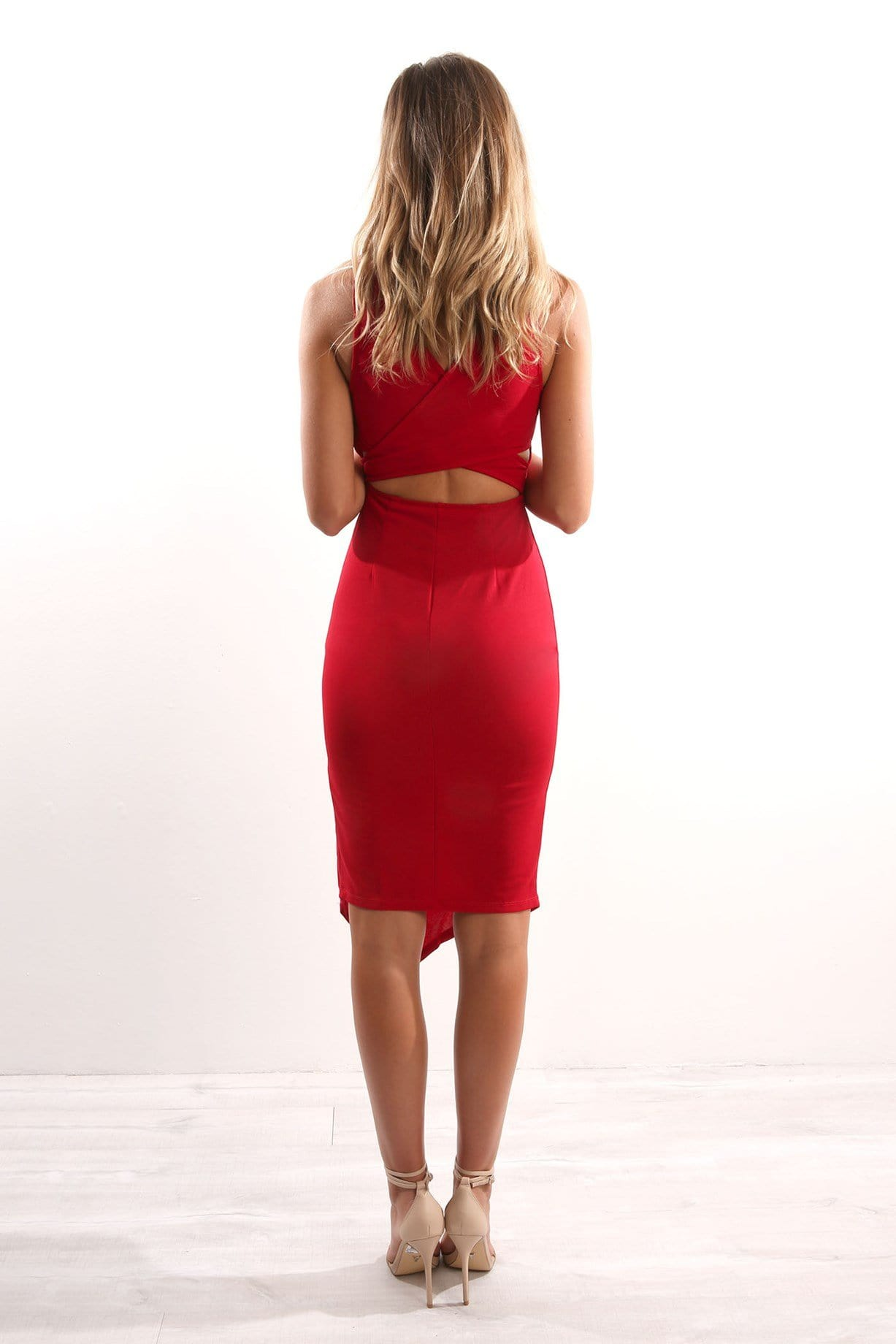Euphemia Dress Red