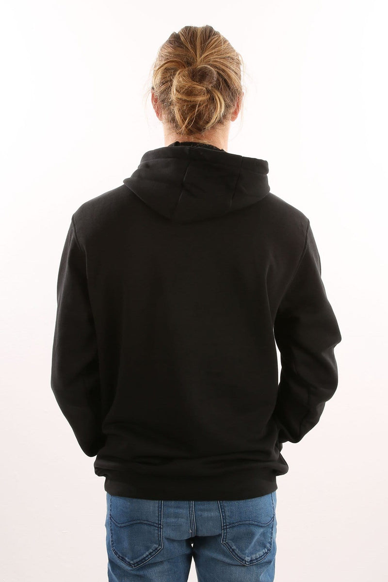 Solid Blackbird Hoody Black White adidas - Jean Jail