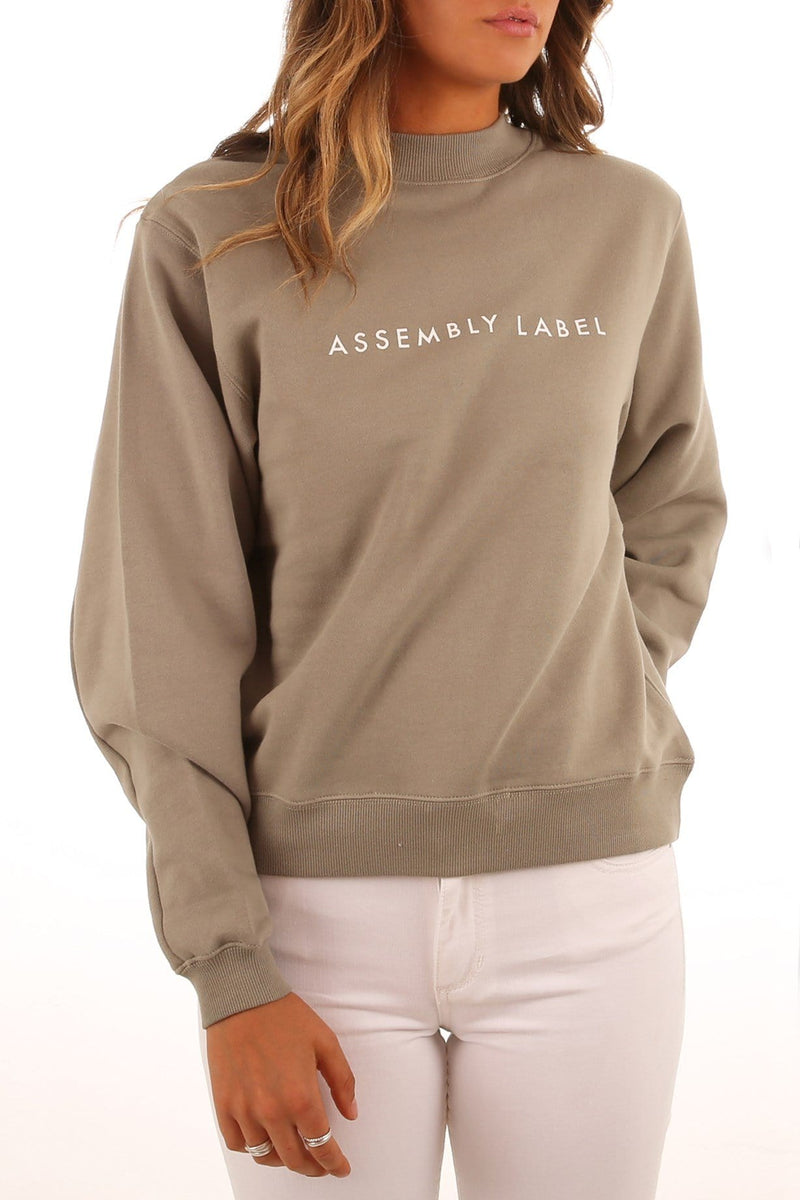 Logo Fleece Sage Assembly Label - Jean Jail