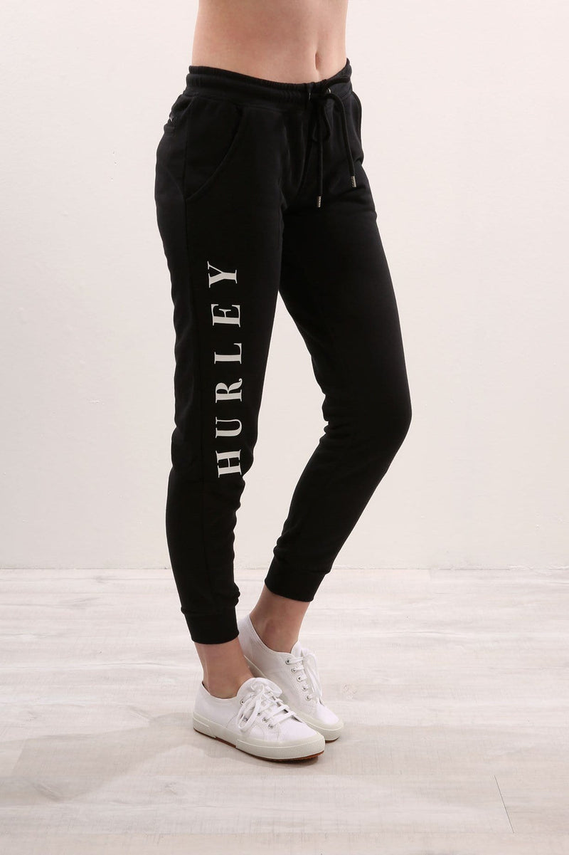Double Cuffed Pant Black Hurley - Jean Jail