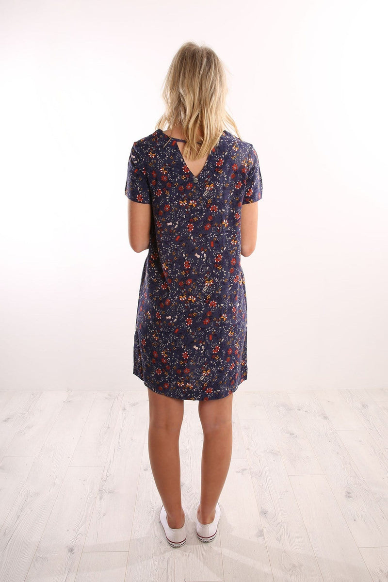 Nadia Tee Dress Folk Print All About Eve - Jean Jail