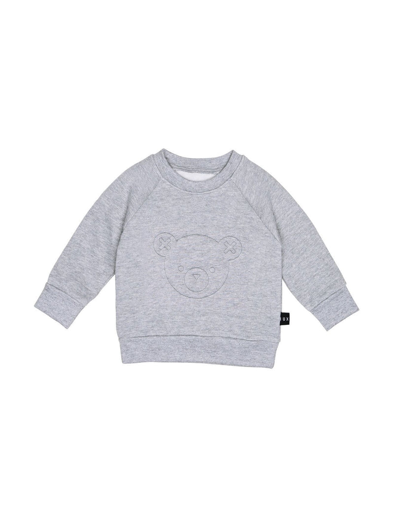 Stitch Bear Sweatshirt Grey Marle