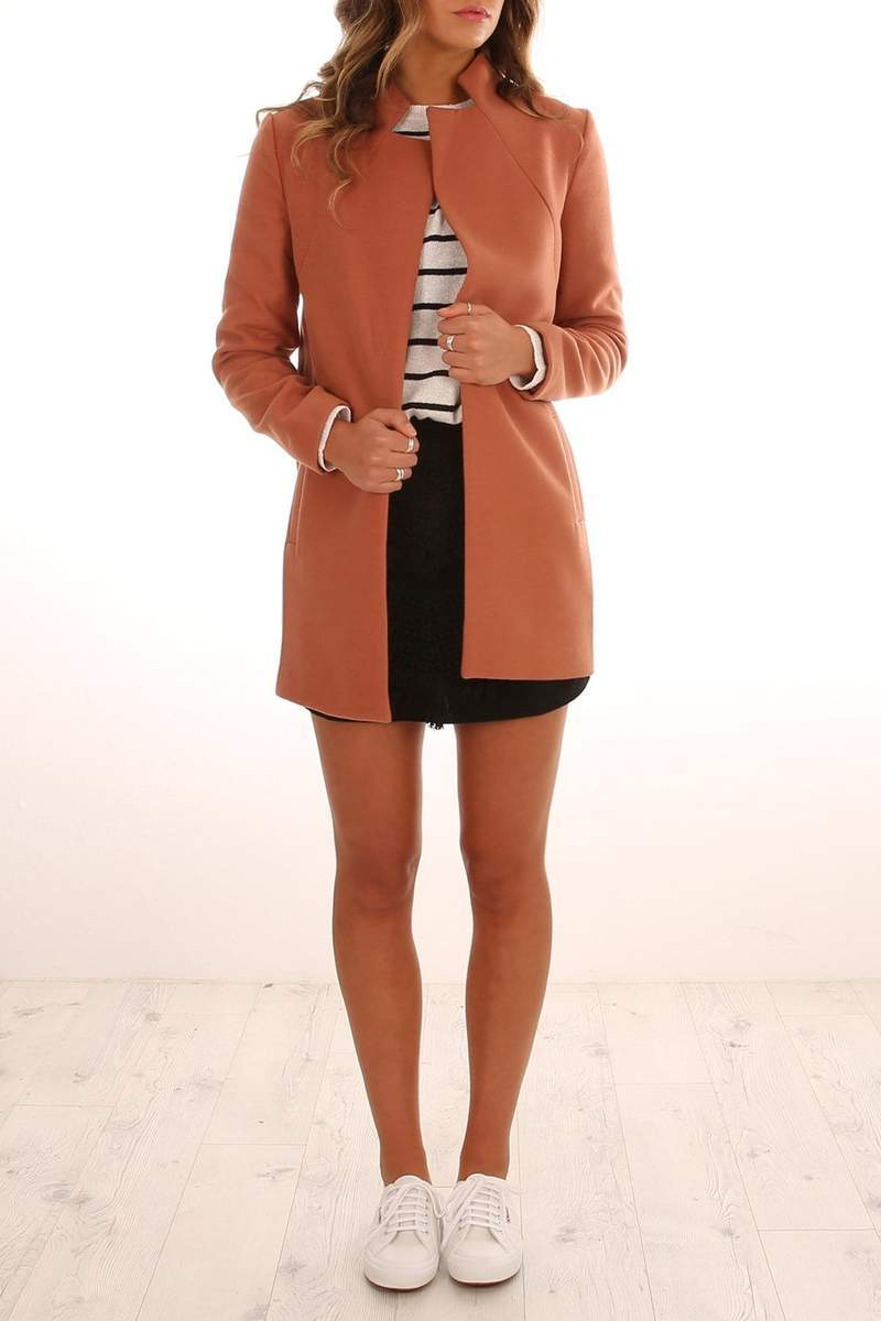 Sample - Dream Town Coat Toffee