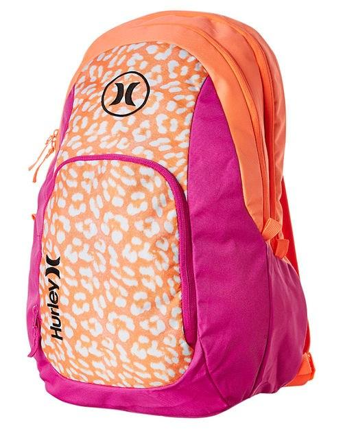 Mission 4.0 Backpack Fire Pink Hurley - Jean Jail