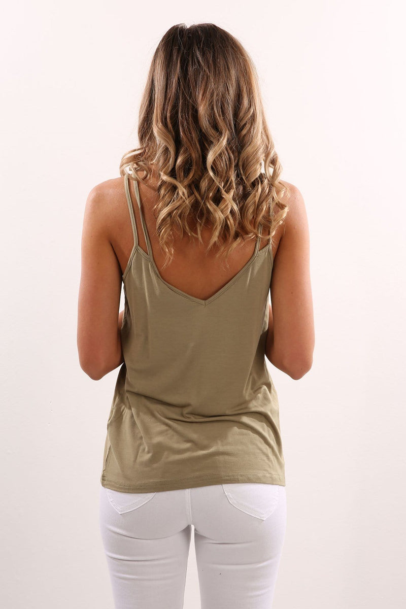 Peace And Music Top Khaki The Fifth Label - Jean Jail