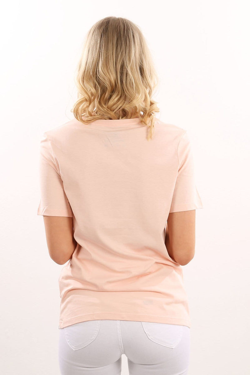 One & Only Tomboy T-Shirt Pale Blush Hurley - Jean Jail