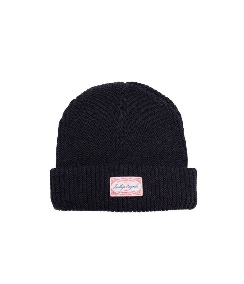 Basic Beanie Vintage Black Rhythm - Jean Jail