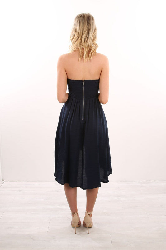 Lead The Way Dress Navy