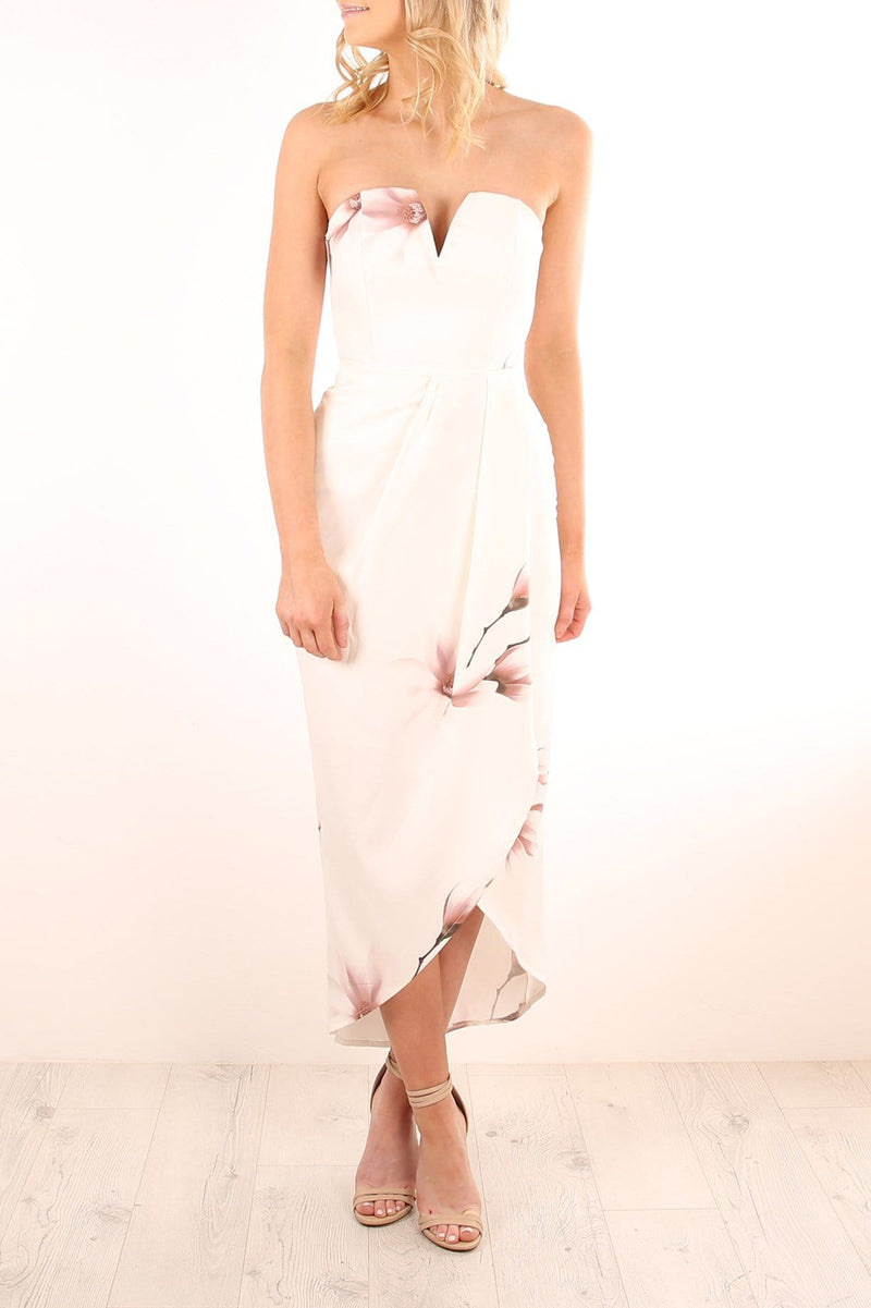 Blissful Dreams Dress White Jean Jail - Jean Jail