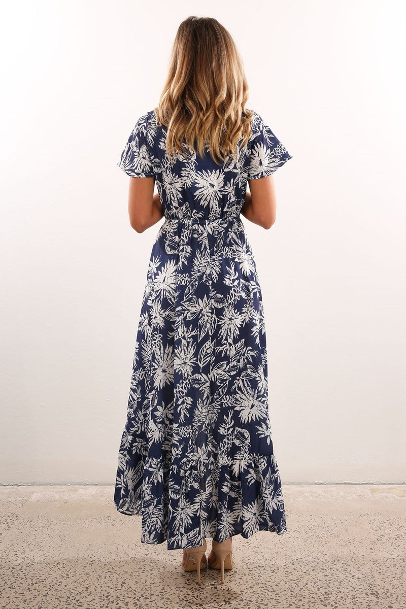 Dream State Maxi Dress Navy Jean Jail - Jean Jail