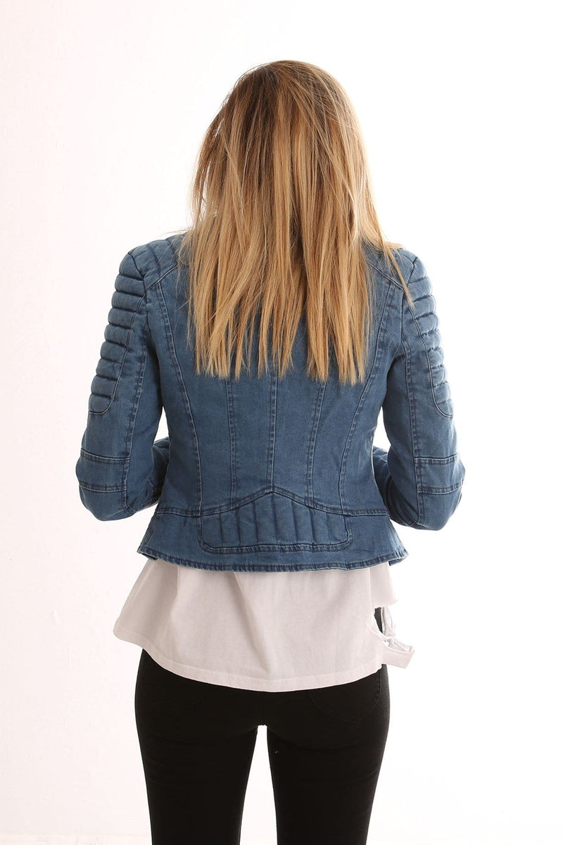 Daria Denim Jacket Blue Denim Jean Jail - Jean Jail