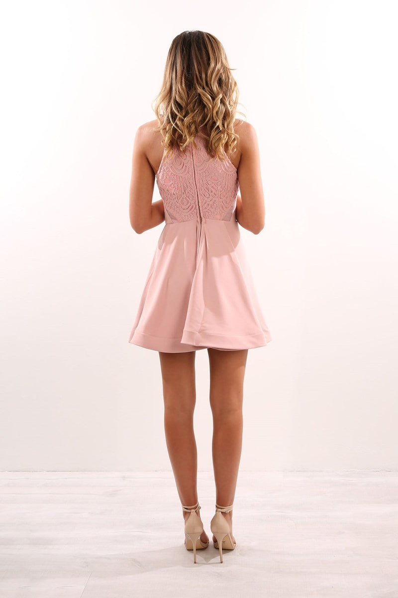 Celebration Dress Blush Jean Jail - Jean Jail