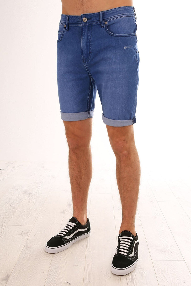 Z 1 Roadie Short Punchy Blue Lee - Jean Jail