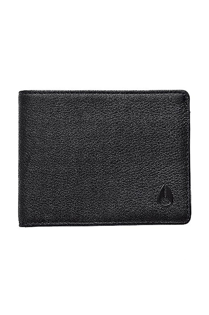 Cape Bi-Fold Wallet All Black Nixon - Jean Jail