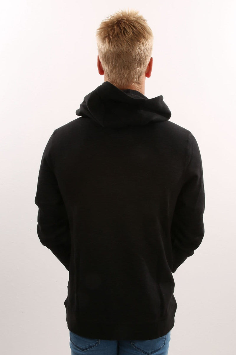 Scriptor Pop Fleece Black Hurley - Jean Jail