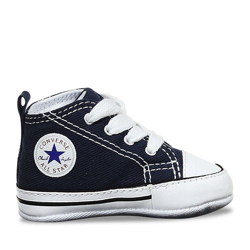 Toddler Crib CT Core Canvas Hi Navy Converse - Jean Jail