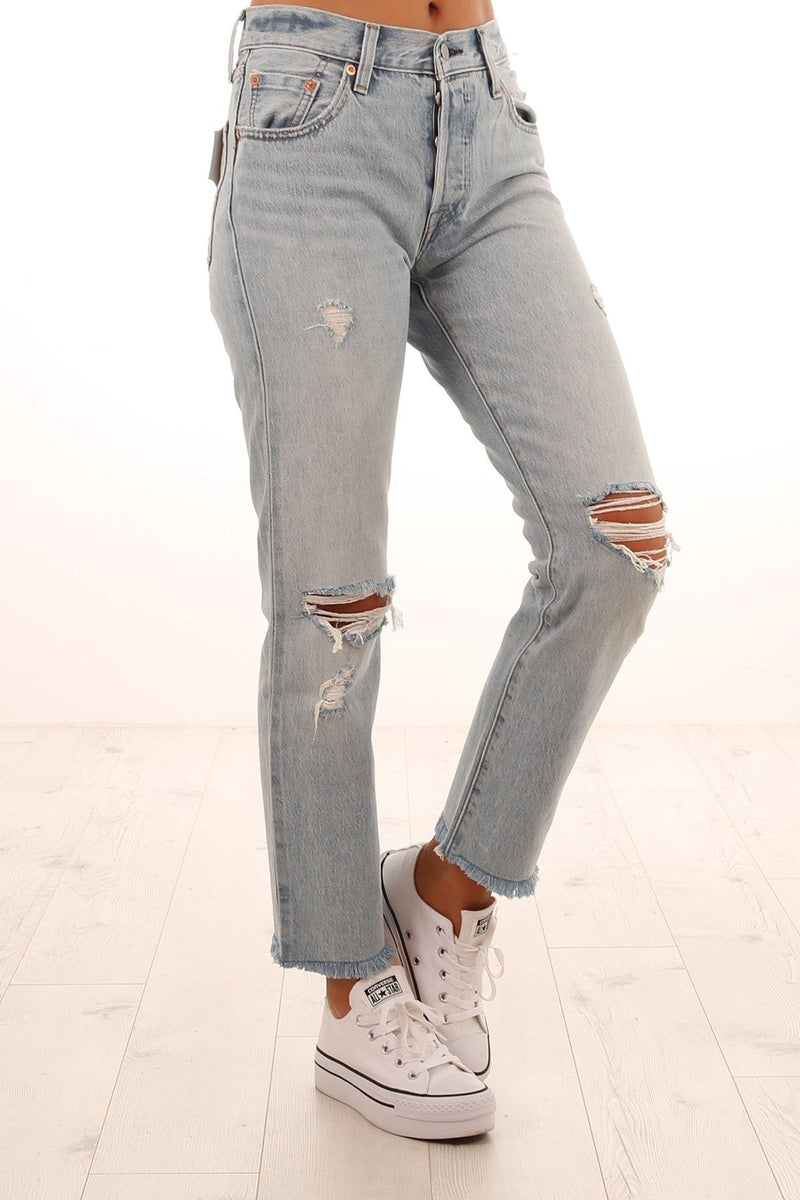 9b3206f0 501 Cropped Jeans Crazy Cool Levis - Jean Jail