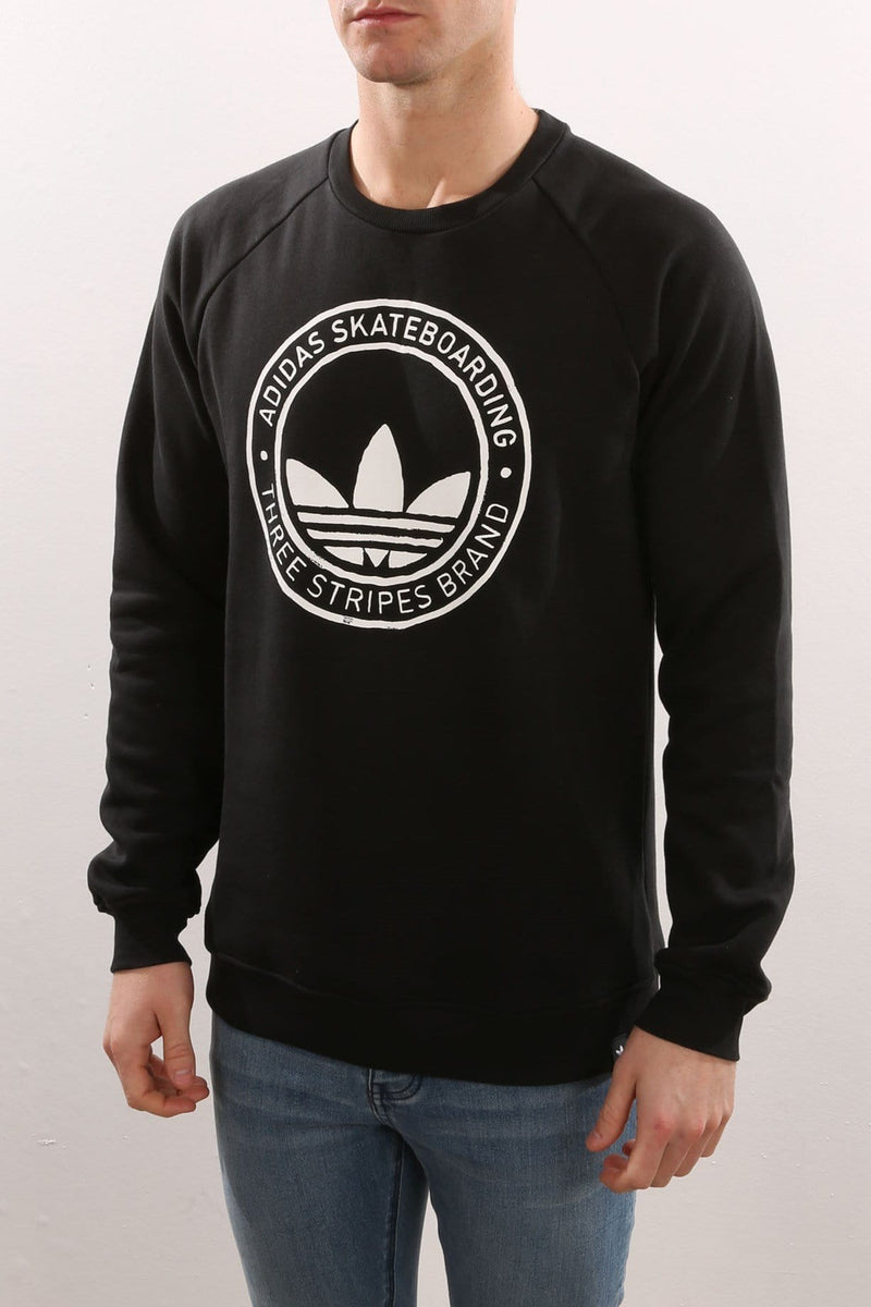 Pitted Crew Black adidas - Jean Jail